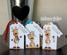 In My Creative Opinion: 25 Days of Christmas Tags - Day 19 and TYIC More holidaygifttags Christmas Gift Wrapping, Christmas Gift Tags, Xmas Cards, Holiday Gifts, 25 Days Of Christmas, Noel Christmas, Christmas Paper Crafts, Unity Stamps, Theme Noel