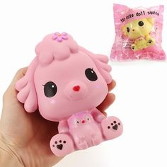Squishy Puppy Doll Dog 14cm Slow Rising With Packaging Collection Gift Decor Soft Squeeze Toy - Tap the pin for the most adorable pawtastic fur baby apparel! You'll love the dog clothes and cat clothes! <3
