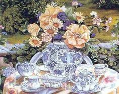 Susan Rios- A-Meaningful-Day..LOVE THE SHADES OF THE CHINA