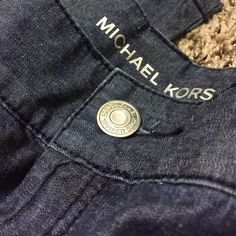 "NWT Michael Kors Jeans  NWT Michael Kors Wide-Leg Jeans. Beautiful Front pockets with D-Link chain attached. 34"" inseam. 60% cotton, 40% Linen. Trade Value: $150 MICHAEL Michael Kors Jeans Flare & Wide Leg"
