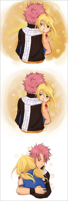 Fairy Tail - Natsu x Lucy - When you hold me. I'm alive