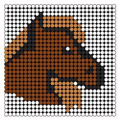 Horse Perler Perler Bead Pattern | Bead Sprites | Animals Fuse Bead Patterns