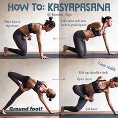 "1,963 Likes, 16 Comments - Y.T (@yoga.tutorials) on Instagram: ""@jasmine_yoga on How We Cheat when We Have Short Arms ・・・ #JasmineYogaTutorial : #Kasyapasana My…"""