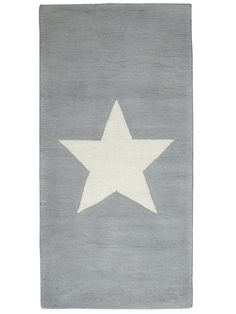 Star Rug - Grey - Decorative Home - Indoor Living Room Rugs, Rugs In Living Room, Child's Room, Bean Chair, Star Night Light, Storage Buckets, Star Rug, House Shelves, Teal And Grey