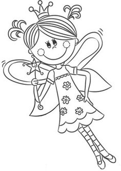 Fairies coloring pages 14 Summer Coloring Pages, Free Coloring Pages, Coloring Books, Coloring Tips, Fairy Coloring, Curious Creatures, Disney Crafts, Digi Stamps, Summer Colors