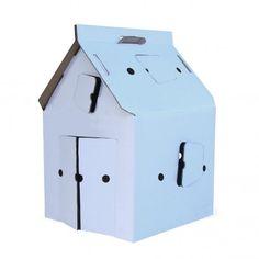 Casa Cabana Maison en carton Blanche  Studio Roof