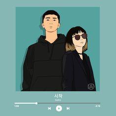 Couple Cartoon, Cartoon Pics, Best Kdrama, Korean Drama Series, Park Seo Joon, Underwater Art, Film Aesthetic, Cute Cartoon Wallpapers, Korean Art
