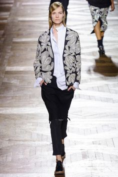 sparkly jacket/cardid Dries Van Noten Fall 2013 RTW Collection