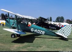 Seen here at the then PFA Rally - Photo taken at Cranfield (EGTC) in England, United Kingdom on July Tiger Moth, Aircraft Pictures, Tigers, Planes, Gypsy, Baby Strollers, Aviation, Monster Trucks, British