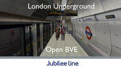 London Underground Simulator: Jubilee Line #tfl #tube #londonunderground #london #simulation #gaming