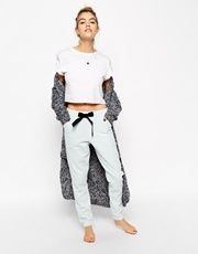 Find the best selection of ASOS Super Soft Fluffy Joggers with Velvet Bow. Shop today with free delivery and returns (Ts&Cs apply) with ASOS! Maxi Cardigan, Oversized Cardigan, Asos, Sweatpants Outfit, Lounge Outfit, Edgy Outfits, Models, Outfit Goals, Outfit Of The Day