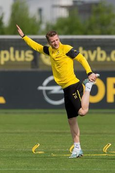 Bilder des BVB-Trainings am Dienstagnachmittag.