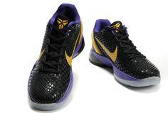 check out 64b51 bb291 Nike Zoom Kobe VI Black Del Sol Purple 436311 07102