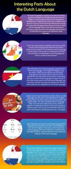 Interesting Facts About The Dutch Language