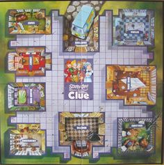 Clue | Image | BoardGameGeek Scooby Doo, Mystery, Mansion, Boards, Creative, Image, Planks, Palace