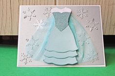 Elsa Handmade Card - Frozen Princess - $5.00 from Hoot & Toot's Loot
