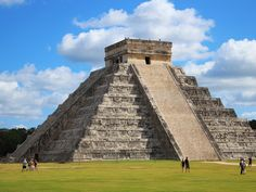 Chichen Itza Mayan Ruins in Progreso, Yucatan, Mexico. If all goes well I'll see them soon!