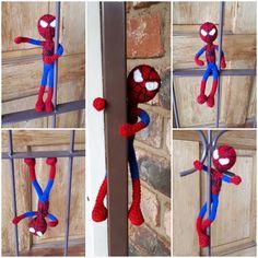 Spidey  #spiderman #amigurumi Spiderman, Amigurumi, Spider Man, Amazing Spiderman
