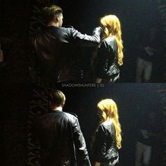    Jace and Clary #Shadowhunters #Clary #Jace #Dom #Kat