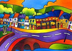 Home Ground Newport County Mayo by Saileen Drumm on ArtClick.ie Irish Art - County Mayo