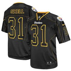 Cheap 7 Best Authentic Donnie Shell Jersey: Steelers Big & Tall Elite