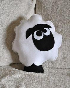 Sheep Pattern PDF -Count the Sheep Plush Pillow PDF Tutorial How to Make DIY.