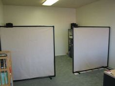 PVC pipe and drop cloth canvas - so many uses!! Room dividers, photography backdrops, etc... Just change the fabric to fit the need.