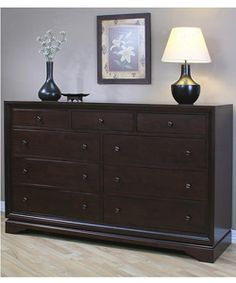 @Overstock - Enhance your bedroom decor with this stylish Armada dresser  Fashionable piece of furniture is made of sturdy and durable rubberwood  Beautiful nine-drawer dresser has a luxurious dark walnut finishhttp://www.overstock.com/Home-Garden/Armada-9-drawer-Dresser/3135004/product.html?CID=214117 $576.99