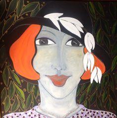 #figurative#oil on canvas#by#Britt Boutros Ghali#www.brittbg.com