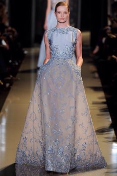 Elie Saab Spring 2013 Haute Couture Fashion by Mademoiselle!