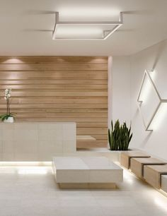 Office back wall design ideas framework by healthcare design office interiors office interior design and interior . office back wall design ideas Lobby Design, Design Entrée, Design Hotel, House Design, Design Ideas, Light Design, Design Concepts, Salon Design, Design Case
