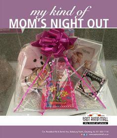 Sensations - Mother's Day Hamper arrangements from Moms' Night Out, Hamper, Day, Gifts, Favors, Presents, Gift, Basket