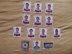 DFB Elf Team Mannschaft Deutschland FIFA WM 2014 Brasil 13 Panini Sticker Götze