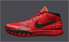 4b1e9f114c53 Men s Nike Kyrie 1 Deceptive Red Size 10 606
