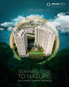 Living under the shadow of nature is the best luxury and the ultimate source of happiness. For more information, give us a call on 09222892229 or visit our website. Real Estate Advertising, Real Estate Ads, Real Estate Signs, Real Estate Business Cards, Real Estate Branding, Real Estate Marketing, Real Estate Banner, Property Ad, Ads Creative