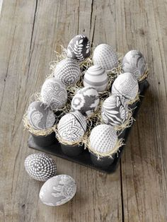 Who knew that silk fabric transfers onto eggshells as easily as the dye in a decorating kit?