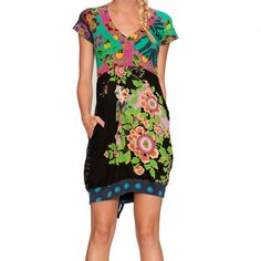 Merryl Dress Green now featured on Fab.