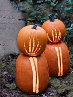 Skeletons and pumpkins. Oh, my!
