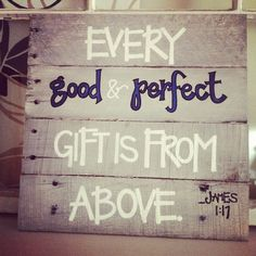 Wooden Sign  Nursery   Personalized Quotes  James by uponaperch, $40.00