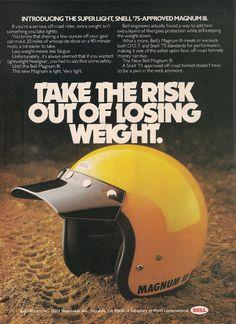 Racing Helmets Garage: Vintage Brochures: Bell Magnum III '70s (Usa)