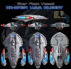 Star Trek Diligent class