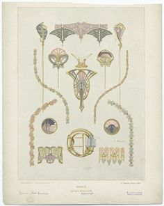 Art Nouveau  Bijoux - ID: 818623 - NYPL Digital Gallery