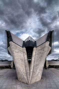 TGV Station. Lyon, France.
