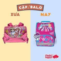 Cặp/Balo Big Little, Little Pony, Dream Big, Clever, Lunch Box, Facebook, Design, Mlp