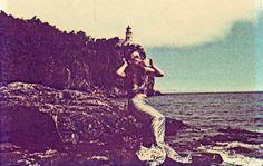 Mermaid, North Shore of Lake Superior, Minnesota (1970s Postcard)
