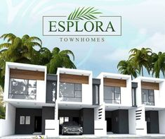 Terrace House Exterior, Townhouse Exterior, Modern Townhouse, Facade House, Row House Design, Modern Small House Design, Duplex House Design, Hotel Design Architecture, Facade Architecture