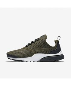 faaca436b82 Nike Air Presto Fly Medium Olive Dark Obsidian White Cargo Khaki 908020-200  Mens Nike