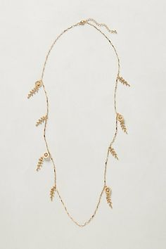 Leafy Necklace #anthropologie