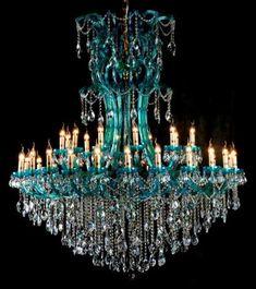 ♡♡ Fabulous! ♡♡, chasingrainbowsforever: Murano Glass Chandelier ...