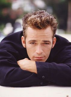 "LUKE PERRY as Dylan McKay on ""90210"""